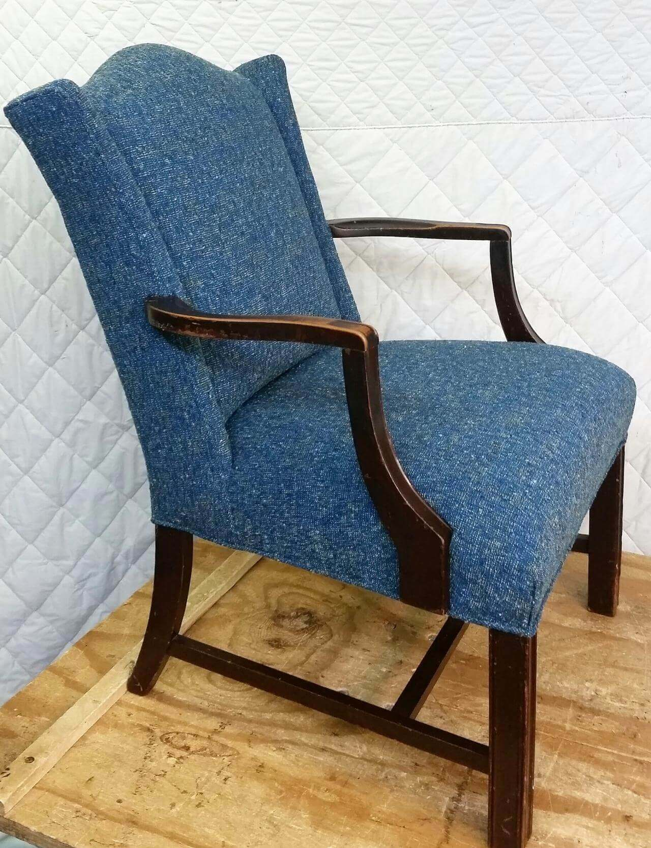 fabric chair reupholstery